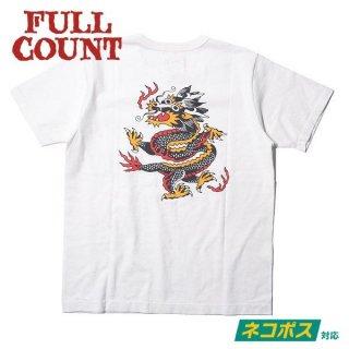 [ネコポス送料200円]フルカウント プリントTシャツ 半袖 DRAGON T-SHIRT ALT-001 FULLCOUNT