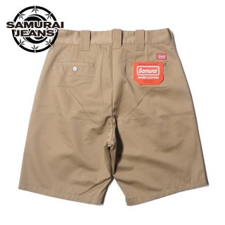 サムライジーンズ TCワークショートパンツ ショーツ SWC250TC20-CT SAMURAI WORK CLOTHES SAMURAI JEANS