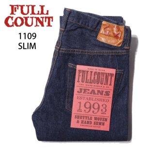 【新定番】フルカウント 1109W SLIM スリム ジーンズ デニムパンツ FULLCOUNT