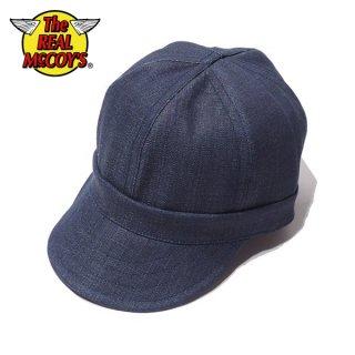 ザ リアルマッコイズ ジョーマッコイ 8HU DENIM ENGINEER CAP デニム エンジニアキャップ 帽子 MA20010 THE REAL McCOY'S