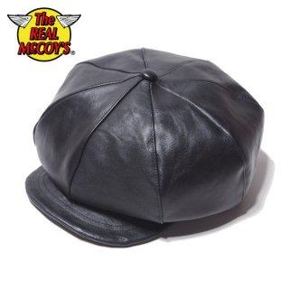 ザ リアルマッコイズ ホースハイド ニュースボーイキャップ 帽子 HORSEHIDE NEWS BOY CAP MA20013 THE REAL McCOY'S