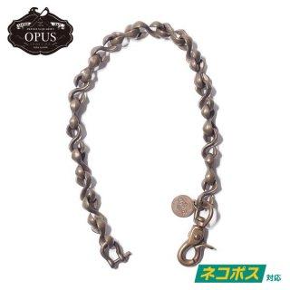[ネコポス送料200円]オーパス 真鍮製 ウォレットチェーン Sカンブラスチェーン OBC-02 OPUS
