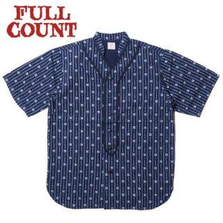フルカウント インディゴウォバッシュ ベースボールシャツ 半袖 INDIGO WABASH BASEBALL SHIRT 4031 FULLCOUNT