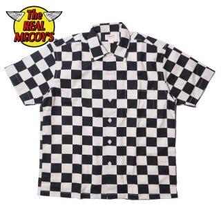 ザ リアルマッコイズ BUCO チェッカードパターンシャツ 半袖 CHECKERED PATTERN SHIRT S/S BS20002 THE REAL McCOY'S