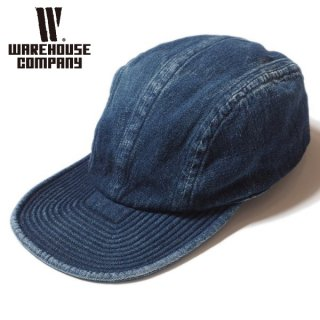 ウエアハウス 加工デニムキャップ BA-3 Lot 5226 USN EXPERIMENTAL DENIM CAP USED WASH(濃) WAREHOUSE