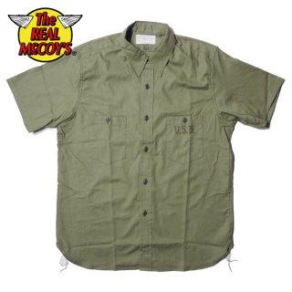 ザ リアルマッコイズ N-3 ユーティリティーシャツ 半袖 UTILITY SHIRT S/S ミリタリー MS19017 THE REAL McCOY'S