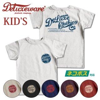 [ネコポス送料200円][KID'S]デラックスウエア キッズTシャツ BRK-04 DELUXEWARE