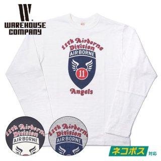 [ネコポス送料200円]ウエアハウス ロングスリーブTシャツ Lot 5906 長袖クルーネックT ANGELS WAREHOUSE