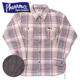 フェローズ ネルシャツ ヘビーウェイト フランネル チェック ワークシャツ FLANNEL SHIRTS 20W-720WS PHERROW'S