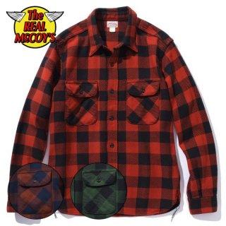 ザ リアルマッコイズ バッファローチェック フランネルシャツ 8HU BUFFALO CHECK FLANNEL SHIRT MS20101 THE REAL McCOY'S