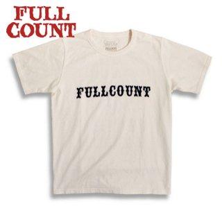 [2021年4-5月入荷予定]フルカウント 活版印刷Tシャツ 5010 THE NEW NORMAL FULLCOUNT[2021年春夏新作]
