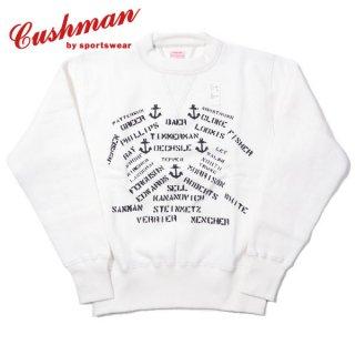 クッシュマン セットイン スウェット スエット U.S.NAVY STENCIL SWEAT 26901P CUSHMAN