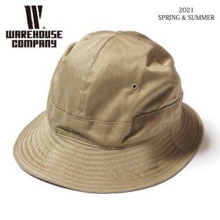 [予約商品]ウエアハウス Lot 5232 M-41 TYPE U.S.ARMY CHINO HAT チノハット 帽子 WAREHOUSE[納期未定][2021年春夏新作 ]