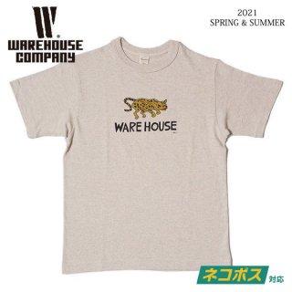[予約商品] ウエアハウス 4601 Yusuke Hanai × WAREHOUSE & CO. JAGUAR Tシャツ WAREHOUSE[納期未定][2021年春夏新作 ]