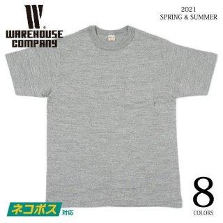 [予約商品]ウエアハウス Lot 4601 ポケットTシャツ WAREHOUSE[納期未定][2021年春夏新作 ]