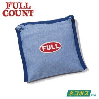 [ネコポス送料200円]フルカウント シャンブレー エコバッグ CHAMBRAY ECO BAG FULLCOUNT