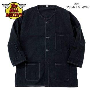 ザ リアルマッコイズ JUNK FORCE BLACK PAJAMA SHIRT ブラック パジャマ MS21007 THE REAL McCOY'S[2021年春夏新作]