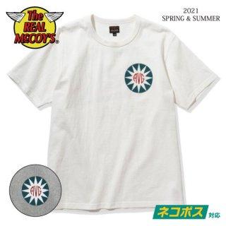 [予約商品]ザ リアルマッコイズ 半袖Tシャツ MILITARY TEE / FEI HU MC21004 THE REAL McCOY'S[2021年春夏新作]
