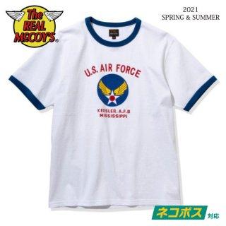 [予約商品]ザ リアルマッコイズ 半袖Tシャツ MILITARY TEE / KEESLER A.F.B. MC21006 THE REAL McCOY'S[2021年春夏新作]