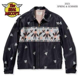 [予約商品]ザ リアルマッコイズ RAYON THUNDERBIRD BLOUSON MJ21016 THE REAL McCOY'S[2021年春夏新作]