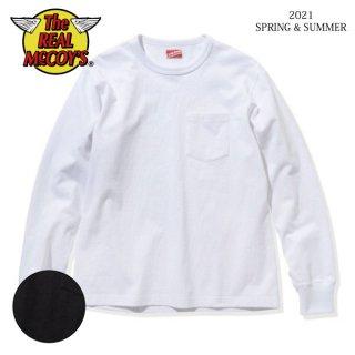 [予約商品]ザ リアルマッコイズ ポケットTシャツ 長袖 L/S POCKET T-SHIRT MC21028 THE REAL McCOY'S[2021年春夏新作]
