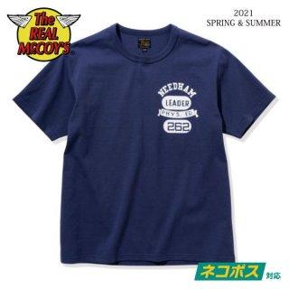 [予約商品]ザ リアルマッコイズ Tシャツ JOE McCOY TEE / NEEDHAM MC21010 THE REAL McCOY'S[2021年春夏新作]