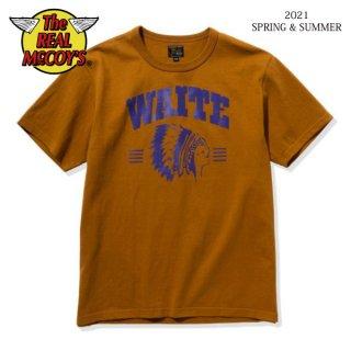 [予約商品]ザ リアルマッコイズ Tシャツ JOE McCOY TEE / WAITE MC21011 THE REAL McCOY'S[2021年春夏新作]