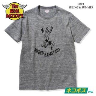 [予約商品]ザ リアルマッコイズ Tシャツ AMERICAN ATHLETIC TEE / KSV MC21015 THE REAL McCOY'S[2021年春夏新作]