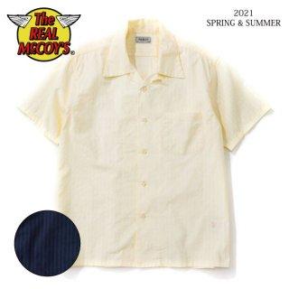 [予約商品]ザ リアルマッコイズ DOBBY CLOTH SUMMER SHIRT S/S MS21010 THE REAL McCOY'S[2021年春夏新作]