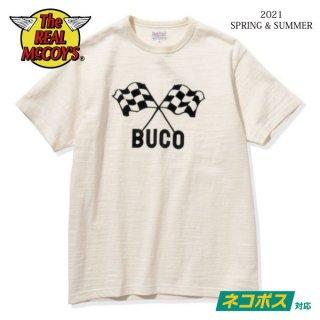 [ネコポス送料200円]ザ リアルマッコイズ 半袖Tシャツ BUCO LW TEE / BUCO 43 BC21004 THE REAL McCOY'S[2021年春夏新作]