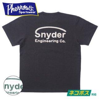[ネコポス送料200円]フェローズ 刺繍 カスタム Tシャツ SNYDER 21S-PTP3 PHERROW'S