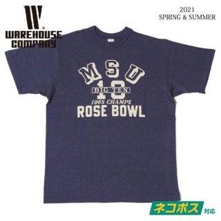 [予約商品]ウエアハウス 4601 MSU Tシャツ WAREHOUSE[納期未定][2021年春夏新作 ]