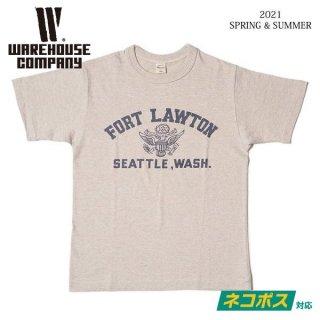 [予約商品]ウエアハウス 4601 FORT LAWTON Tシャツ WAREHOUSE[納期未定][2021年春夏新作 ]