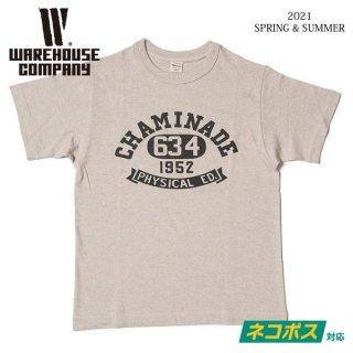 [予約商品]ウエアハウス 4601 CHAMINADE Tシャツ WAREHOUSE[納期未定][2021年春夏新作 ]