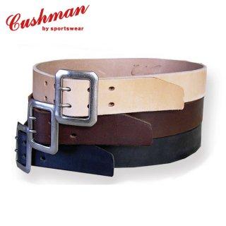 クッシュマン 40mmダブルピンベルト カウハイド DOUBLE PIN BELT 29601 CUSHMAN