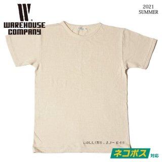 [予約商品]ウエアハウス Lot 4091 USN SKIVVY SHIRTS COLLINS Tシャツ WAREHOUSE[2021年夏頃入荷分][2021年夏新作 ]