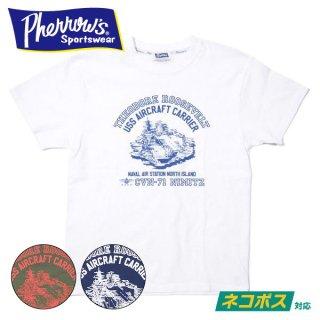 [ネコポス送料200円]フェローズ プリントTシャツ 21S-PT13 PHERROW'S