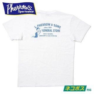 [ネコポス送料200円]フェローズ プリントTシャツ 21S-PTJ6 PHERROWS