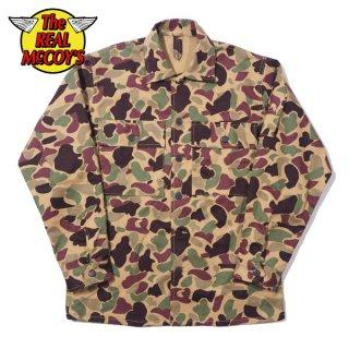 ザ リアルマッコイズ BEO GAM CAMOUFLAGE SHIRT ベオガム カモフラージュシャツ MJ21013 THE REAL McCOY'S[2021年春夏新作]