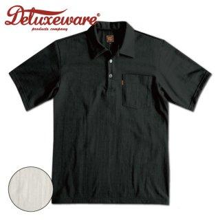 デラックスウエア オープンカラーTシャツ カジュアルポロシャツ 半袖 OCT-14 DELUXEWARE[2021年春夏新作]