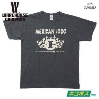 [ネコポス送料200円]ウエアハウス Lot 4064 MEXICAN 1000 Tシャツ WAREHOUSE[2021年夏新作 ]