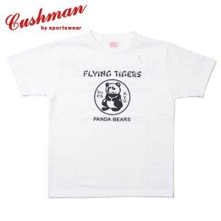 [ネコポス送料200円]クッシュマン プリント Tシャツ 半袖 PRINT TEE PANDA BEARS 26606 CUSHMAN