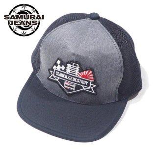 サムライジーンズ 二輪車倶楽部 メッシュキャップ 帽子 MC101ME18-01 SAMURAI JEANS
