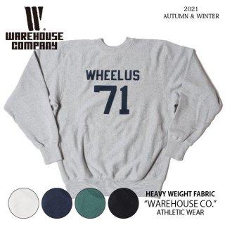 ウエアハウス Lot 483 WHEELUS リバースウィーブ スウェット WAREHOUSE[2021年秋冬入荷分][2021年秋冬新作 ]