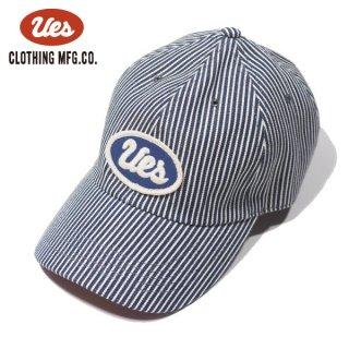 ウエス ヒッコリーキャップ ベースボールキャップ 帽子 UES ネイビー 82HC UES