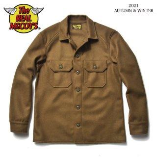 ザ リアルマッコイズ フィールドシャツ SHIRT, COLD WEATHER, FIELD, WOOL/NYLON MS21107 THE REAL McCOY'S[2021年秋冬新作]