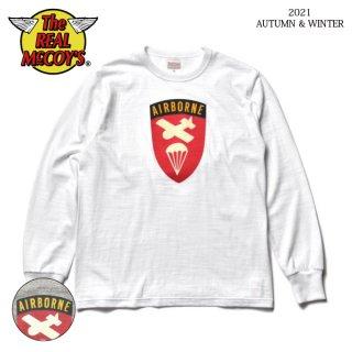 ザ リアルマッコイズ 長袖 Tシャツ ATHLETIC L/S TEE / AIRBORNE MC21119 THE REAL McCOY'S[2021年秋冬新作]