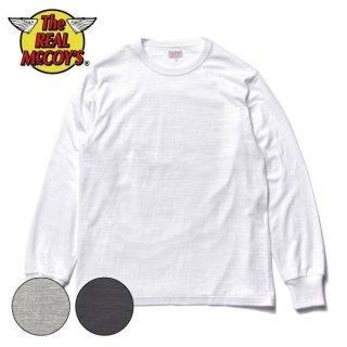 ザ リアルマッコイズ 吊り編み 長袖Tシャツ ATHLETIC L/S T-SHIRT/ LOOP-WHEEL MC21109 THE REAL McCOY'S[2021年秋冬入荷分][秋冬新作]