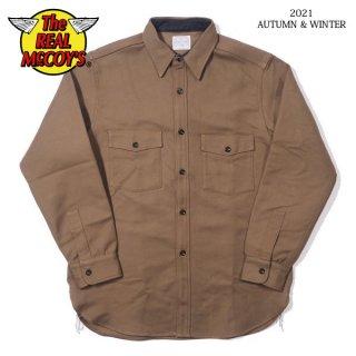 ザ リアルマッコイズ ヘビーモールスキンシャツ 8HU HEAVY MOLESKIN SHIRT MS21104 THE REAL McCOY'S[2021年秋冬入荷分][秋冬新作]