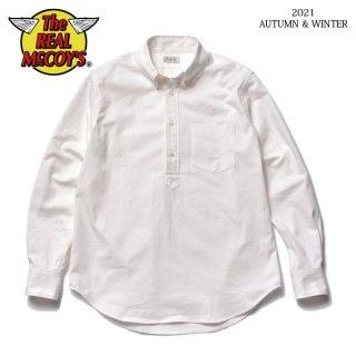 ザ リアルマッコイズ プルオーバー ボタンダウンシャツ JM P/O BUTTON-DOWN SHIRT MS21106 THE REAL McCOY'S[2021年秋冬新作]